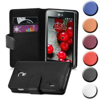 Case for LG OPTIMUS L7 II Phone Cover Card Slot and Pocket Wallet