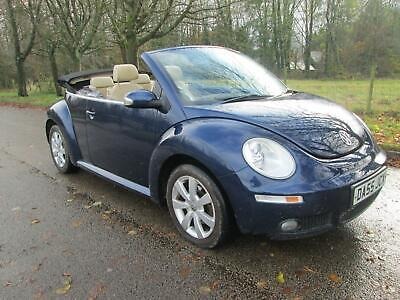 2005 Volkswagen Beetle 1.6 Luna 2dr 99k Lady Owned 13yrs