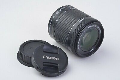 EXC++ CANON EF-S 18-55mm f3.5-5.6 IS STM LENS w/CAPS, CLEAN AND TESTED