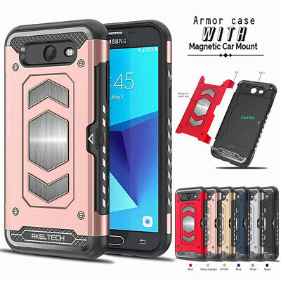 For Samsung S10 S10E S9 S8 Plus Note 9 shockproof Magnetic Case with film