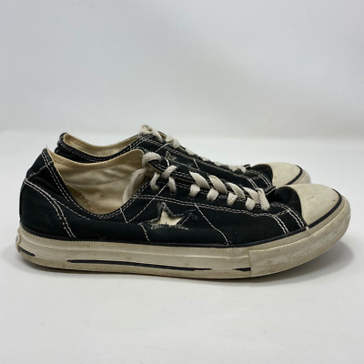 Converse One Star Womens Black Sneakers Size 9.5 (A140)
