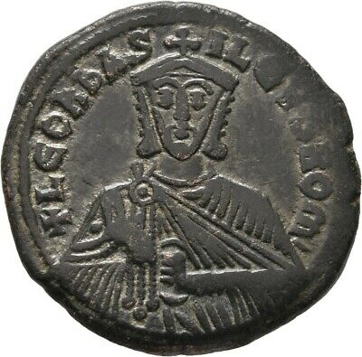 Lanz Byzantine Empire Leo The Wise Constantinople Follis Bronze §Yes2629