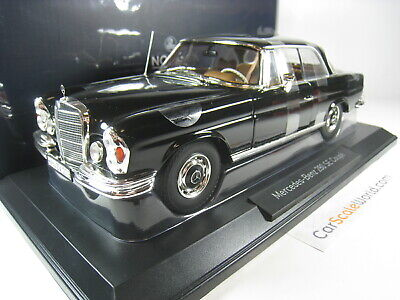 Mercedes Benz 280 Se Coupe W108 1969 1/18 Norev (Black)