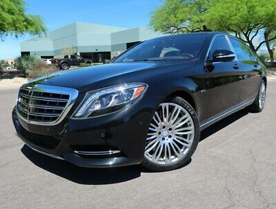 2016 Mercedes-Benz S-Class S600 Maybach Executive Rear Seat Package Highly Optioned 2017 2018 Maybach S600 Black