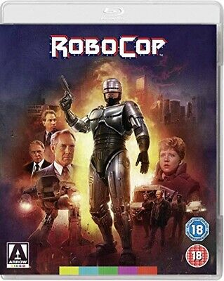 Robocop (1987) - Blu Ray - Peter Weller - New 4K Remaster From Arrow!!!