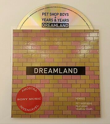"Pet Shop Boys & Years & Years ""Dreamland"" Brand New Official 5 Remix Promo Cd"