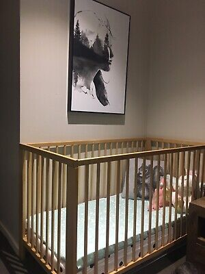 IKEA baby cot in excellent condition