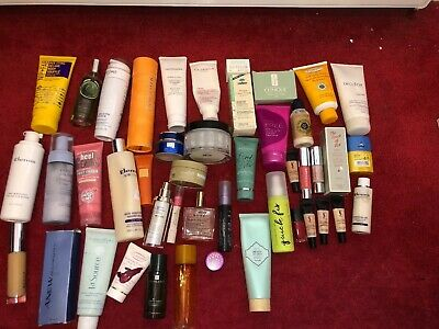 44x Beauty Products Lotions Decleor Clarins Clinique  Jo Malone Elemis *READ**