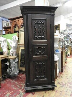 Closet Antique of 700 Piedmont a 1 Panel Panels Carved First Patina Period