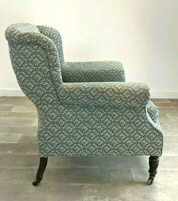 Antique / Victorian armchair / wingback