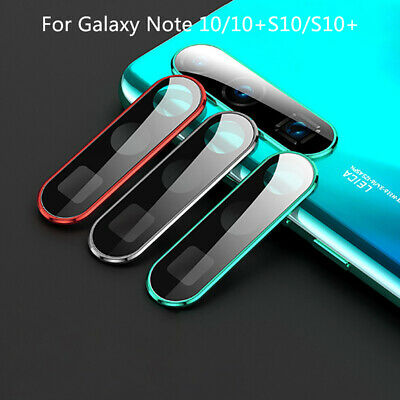 For Samsung Galaxy Note 10 S10 Plus Tempered Glass Camera Lens Screen Protec>