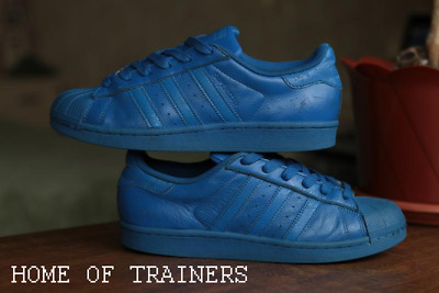 adidas originals superstar Blue AQ3036 Kids Boys Girls Trainers (PTI)