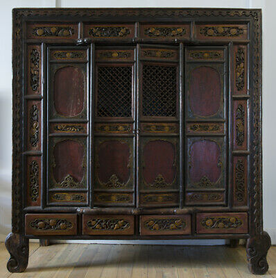 Chinese Qing Dynasty (18th C) Cabinet from Shanxi Province *