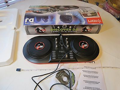 BE THE DJ discover computer system mixing ION scratch mixvibes software USB EUC