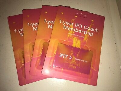 1-year iFit Coach Family Membership (4 users), for NordicTrack and ProForm
