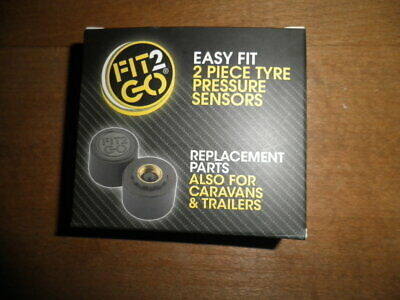 TPMS Fit2Go Tyre pressure management system  a pair of spare sensors