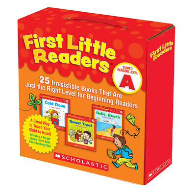 Scholastic First Little Readers Book Parent Pack, Guided Reading Level A, Set of