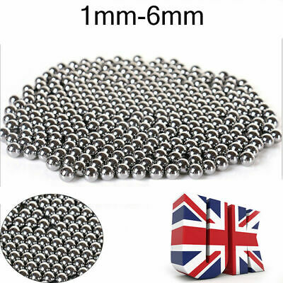 Industrial Rolling Roller Beads 304 Stainless Steel Ball Bearings x100 UK Shop