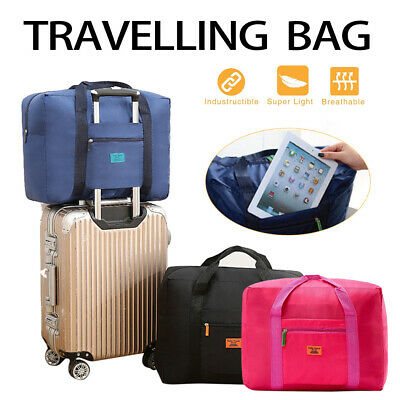 Foldable Travel Bag Luggage Durable Hand Shoulder Storage Carry on Duffle Bag