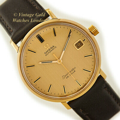 Omega Seamaster De Ville, Cal.565, 18Ct, Gold Dial, 1968 - Immaculate!