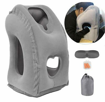 Betus Inflatable Air Travel Pillow Airplane Neck Support Head Cushion Nap Rest