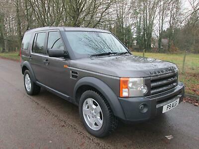 LAND ROVER DISCOVERY TDv6 190 Auto S 7 Seat 1 OWNER FULL SERVICE HISTORY Grey Au