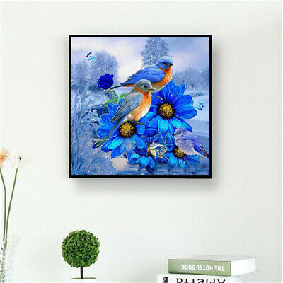 1pc Full Drill 5D Diamond Painting Embroidery Cross Crafts Stitch Kit Home D CL