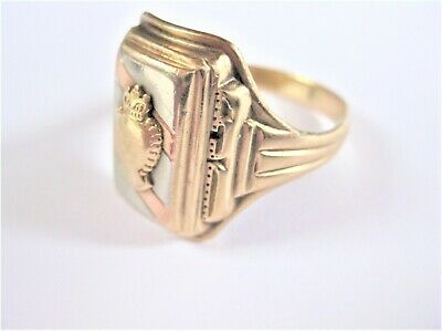 Ring Gold 416 tricolor, 8,02 g