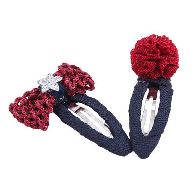 Girls Baby Fruit Hair Clips Snap Kid Hairpin Barrettes Hair Bow Accessories LL