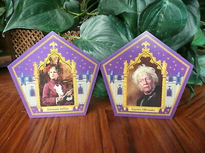 Harry Potter Chocolate Frog Cards - Artemisia and Garrick
