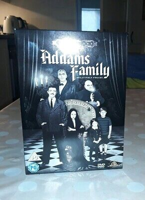 The Addams Family Volume One (TV show) 3 dvd Box Set Region 2
