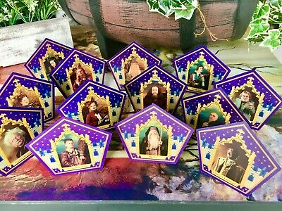 Harry Potter Chocolate Frog Card - *13* CARD SET WITH MERLIN AND GENUINE TIN!