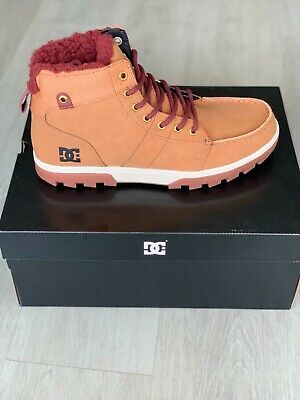 MEN/'S or 9 SIZE: 8.5 DC WOODLAND BOOTS COLOR: BLKONG --- BRAND NEW!