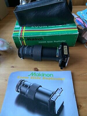 Makinon Zoom 3x Slide Duplicator with M42 T2 Mount (adaptable) Boxed
