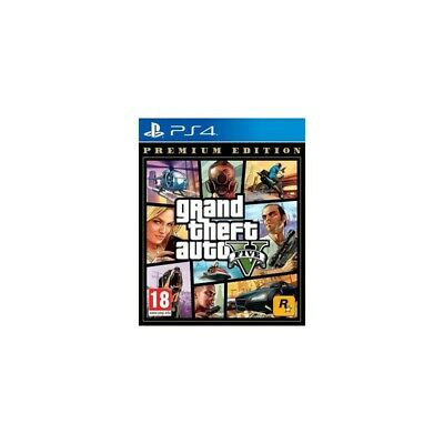 Ps4 Gta Grand Theft Auto 5 - Premium Online Edition Eu