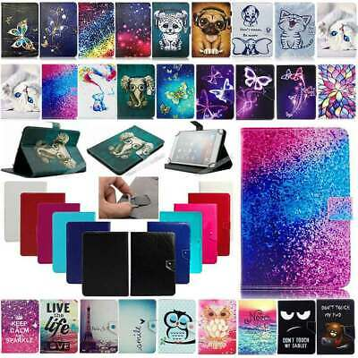 """Universal Case For Huawei MediaPad T1 T3 T5 7""""~10.1"""" Tablets Leather Stand Cover"""