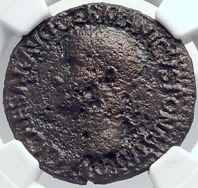 CALIGULA Ancient Original 37AD Rome Authentic Roman Coin NGC Certified i81731