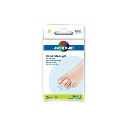 MASTER AID 2 gel toe cover size Small