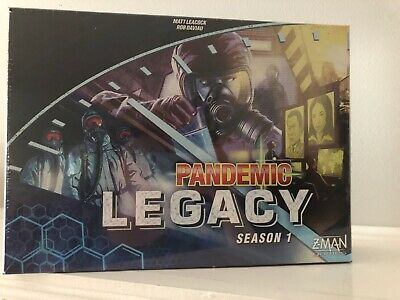 Pandemic Legacy Z-Man Games Strategy Board Game Season 1 (Blue Edition) Sealed