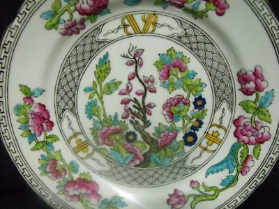 Aynsley English Bone China Indian Tree 2 Bread & Butter Plates   Kt2358