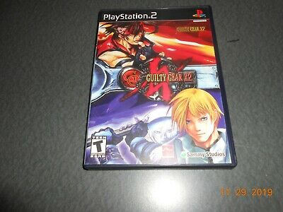 Guilty Gear X2 (Sony PlayStation 2, 2003) complete