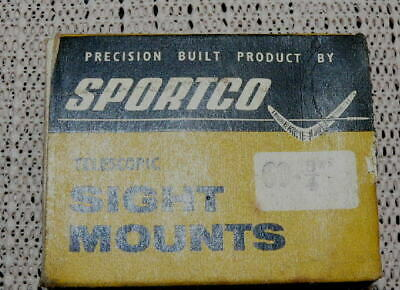 Original old NewIn Box Sportco Rifle scope mounts