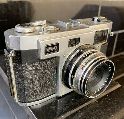 HANIMEX HOLIDAY SLR Retro camera With 35mm Lens and Case
