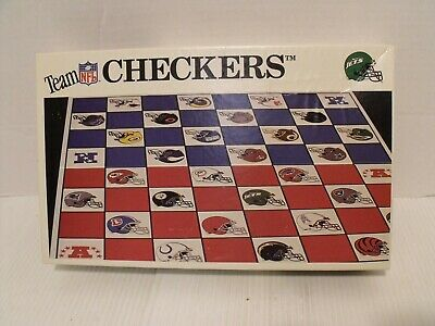 NFL Team Checkers New York Jets vs Miami Dolphins Football NEW OPEN BOX SEE PICS