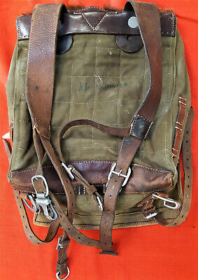 Vintage Ww2 German Army Mountain Troops Soldier's Uniform Back Pack