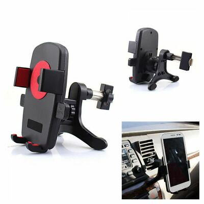 GPS Stand 360° Rotation & Swivel Cell Phone Holder Cradle Car Air Vent Mount