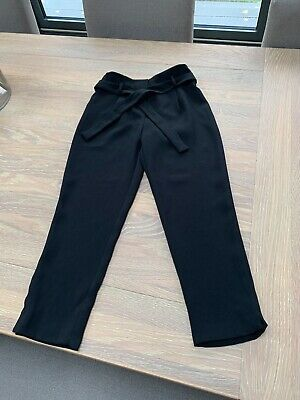 Girls Black trousers New with tags River Island Age 8