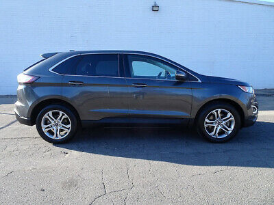 2015 Ford Edge Titanium 2015 Ford Edge Titanium SUV Used 2L I4 16V Automatic AWD Leather Seats Cheap Suv