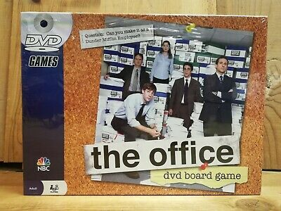 New sealed The Office Dvd Board Game NBC Pressman 2008 Trivia 2-6 Players