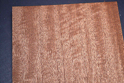 Sapele Ribbon Stripe Wood Veneer Sheets 7 x 48 inches                    7629-13